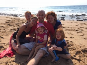 Family Fun, Ballito Beach. Feb 2015